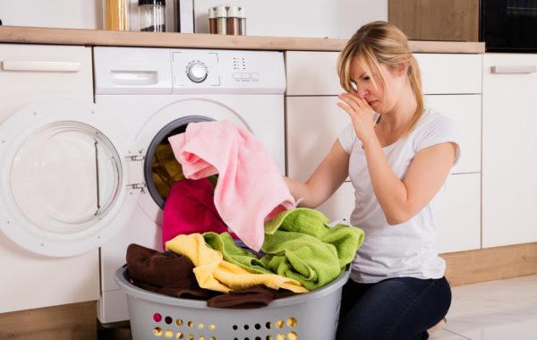 Eliminación de los olores de la lavadora